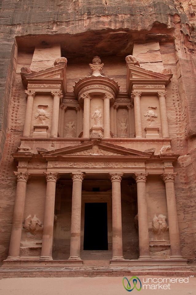 Treasury at Dusk - Petra, Jordan