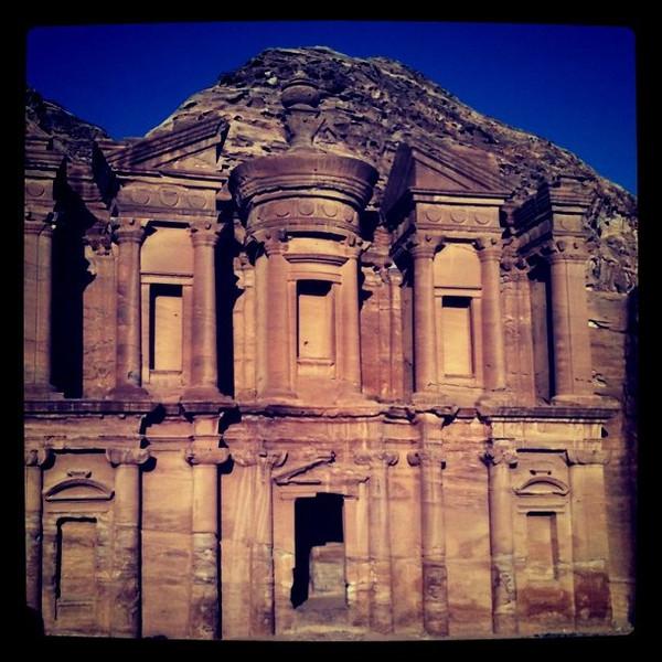 The Monastery at Petra - Jordan