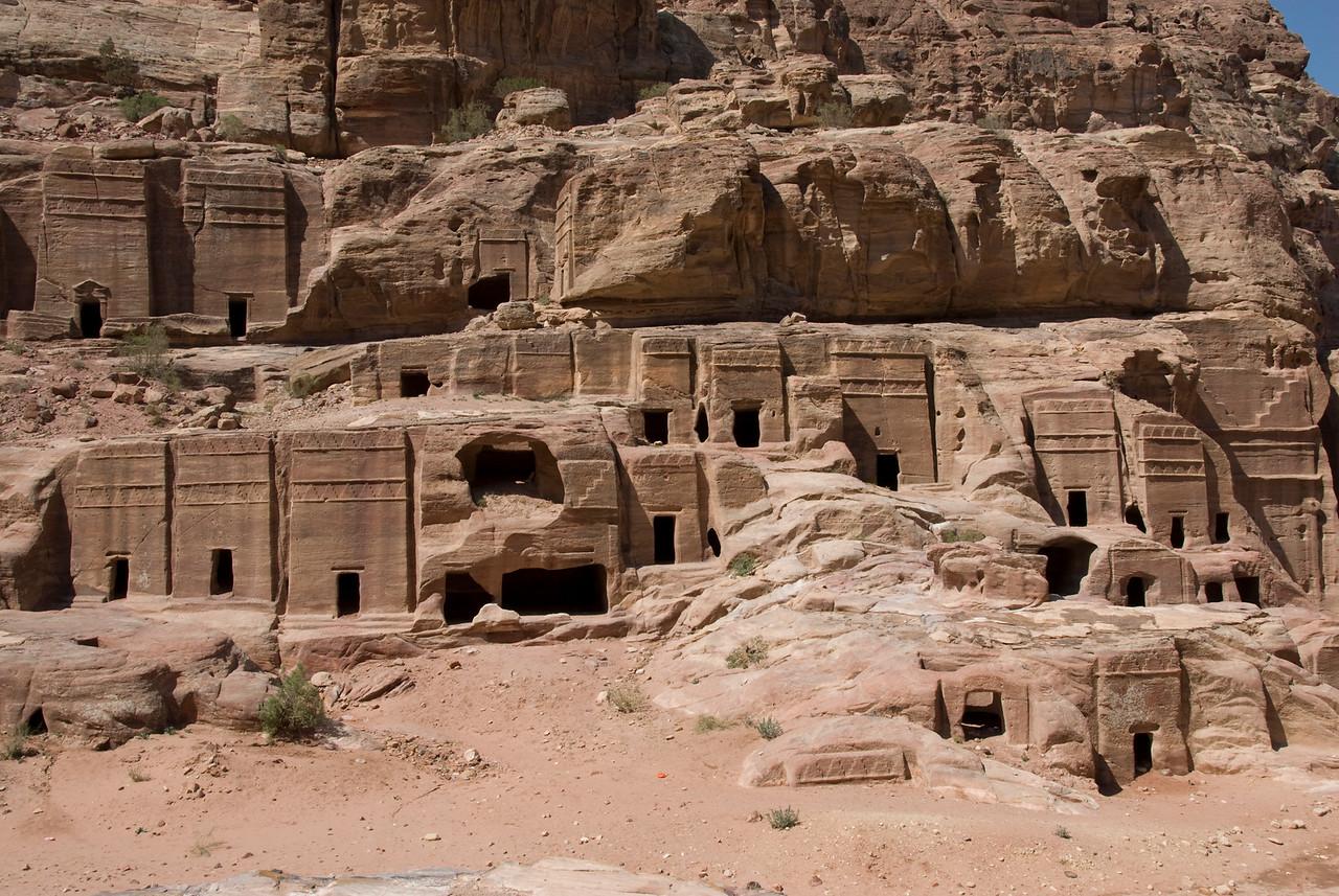 Cave Dwellings in Petra, Jordan