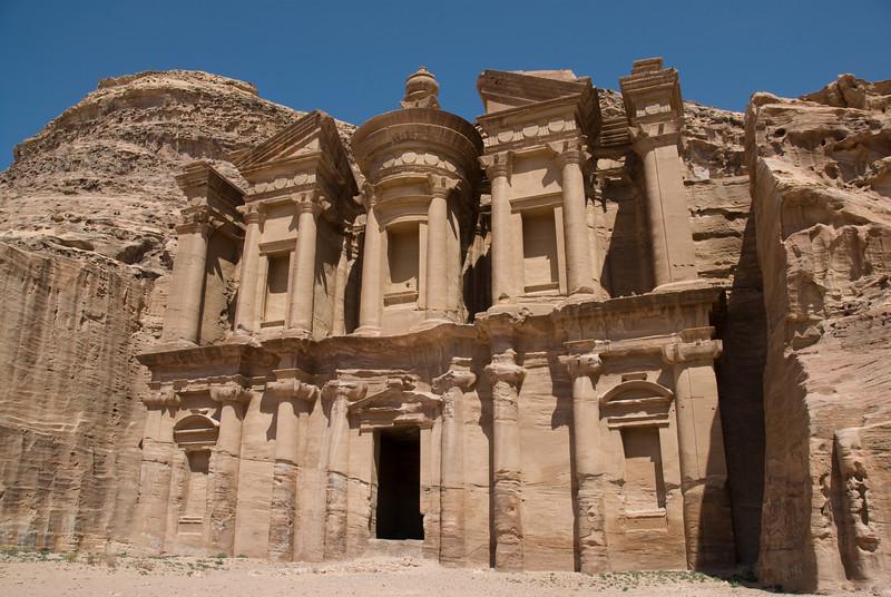 The Monastery in Petra, Jordan