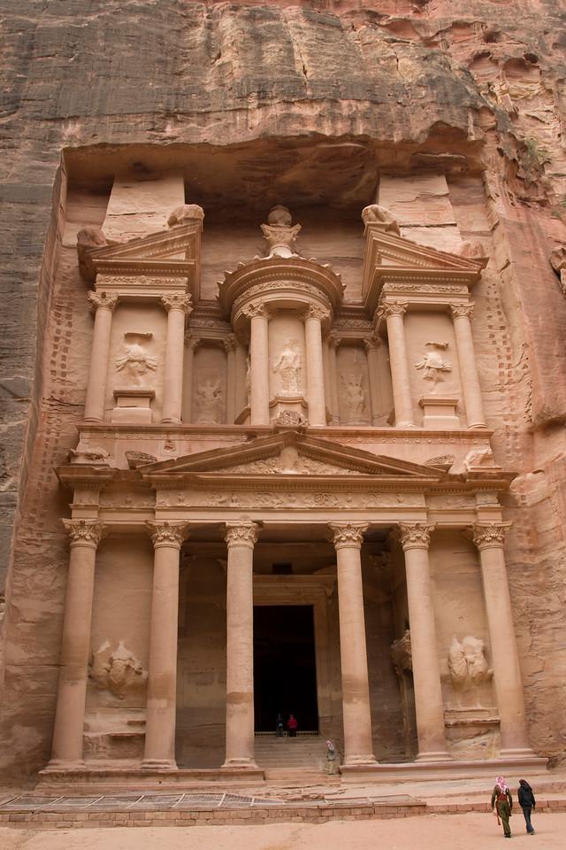 The Treasury in Petra, Jordan