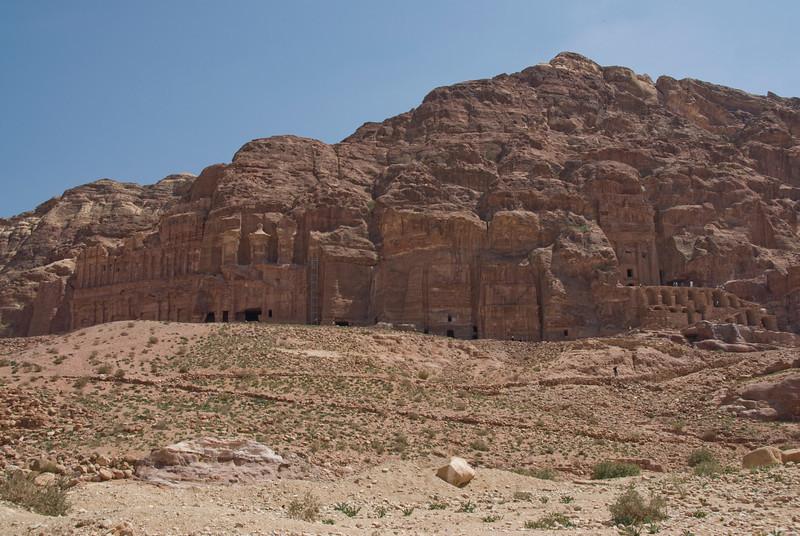 Ruins in Petra, Jordan