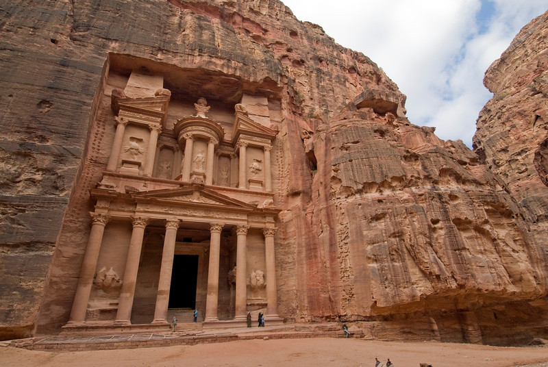 The Treasury in Petra, Jordan