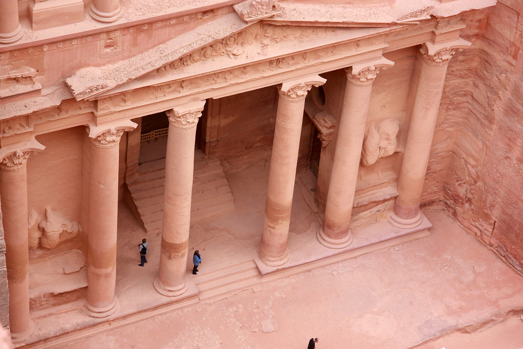 Overlook of the Treasury, Petra, What a view!...