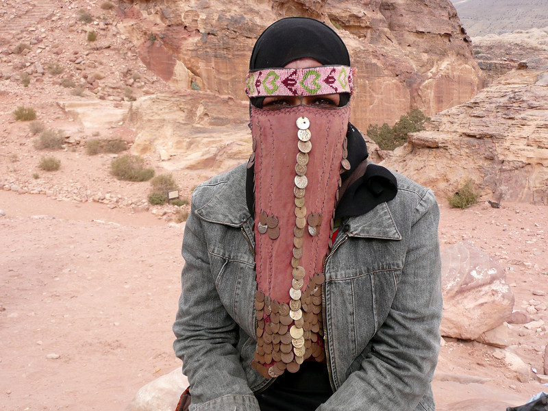 Sabah and headdress, the eyes have it! People of Jordan