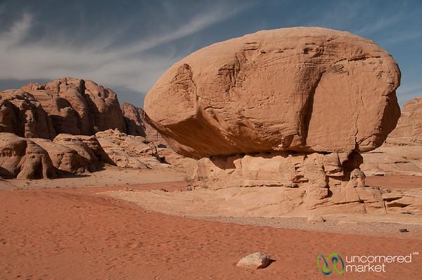 Mushroom Rock - Wadi Rum, Jordan
