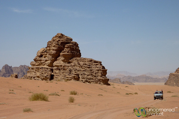Truck Ride Across Wadi Rum - Jordan