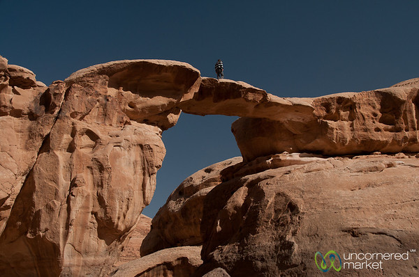 Rock Bridge - Wadi Rum, Jordan