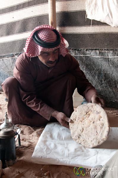 Fully Baked Bedouin Bread (Abud) - Wadi Rum, Jordan