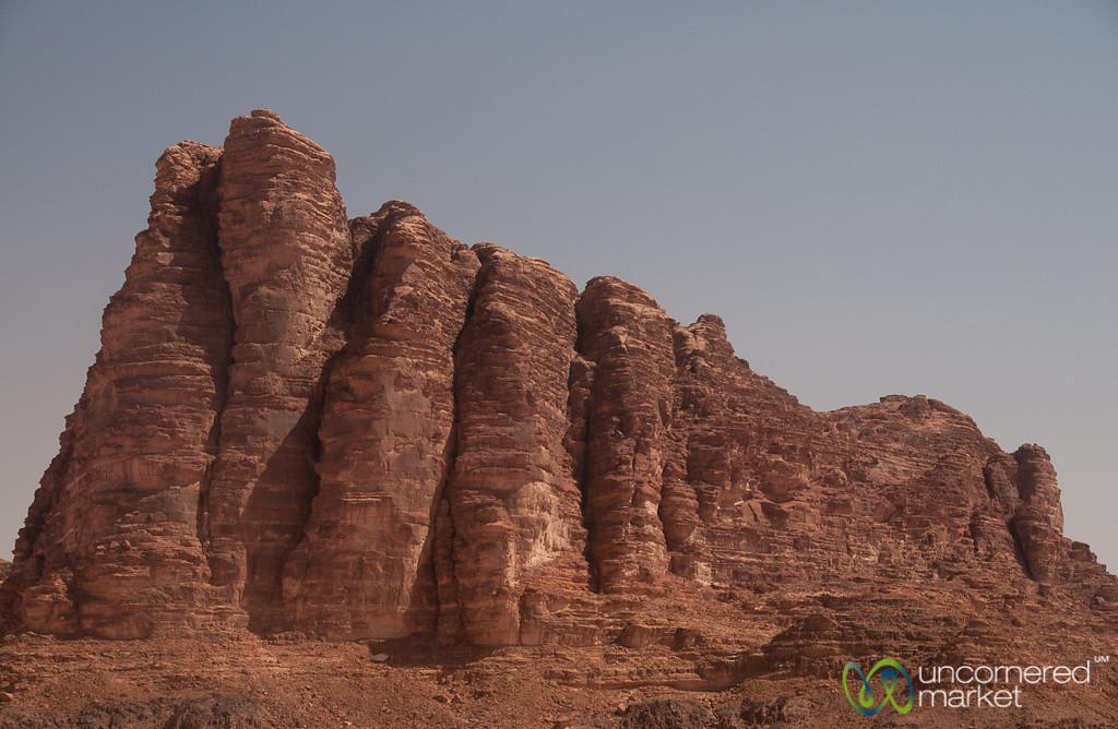 Famous Seven Pillars of Wadi Rum - Jordan