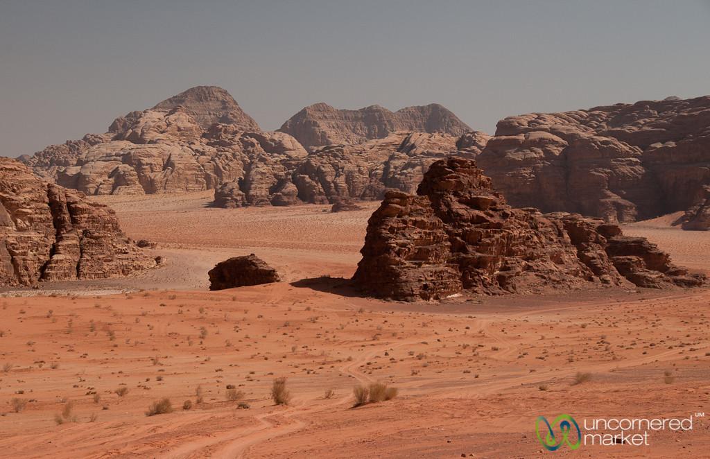 Colors of Wadi Rum in Jordan