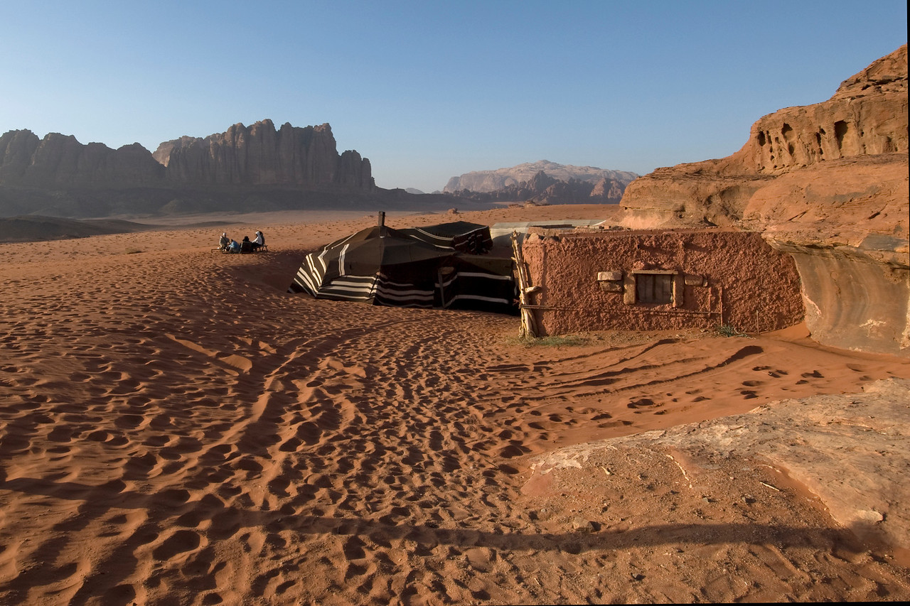 Bedouin Camp in Wadi Rum, Jordan