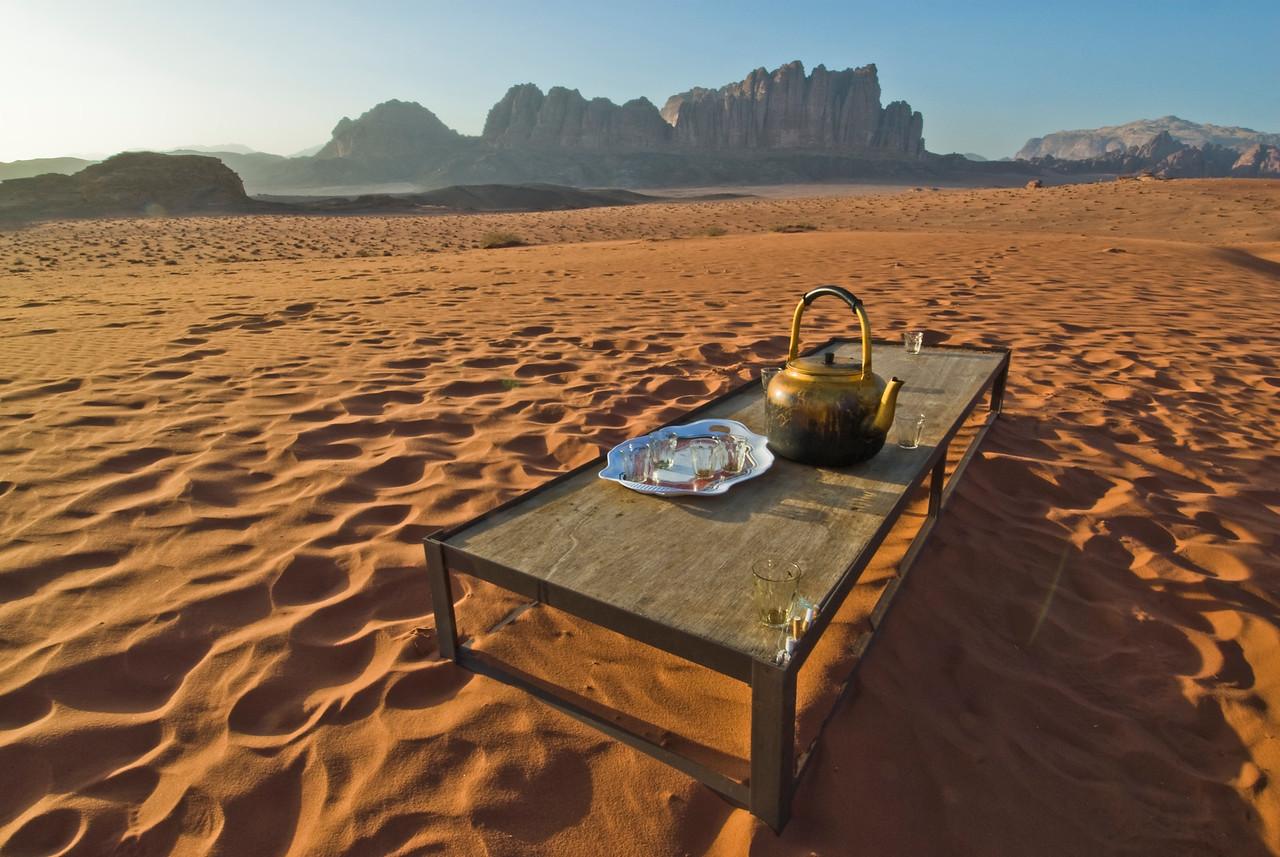 Tea in the Desert - Wadi Rum, Jordan