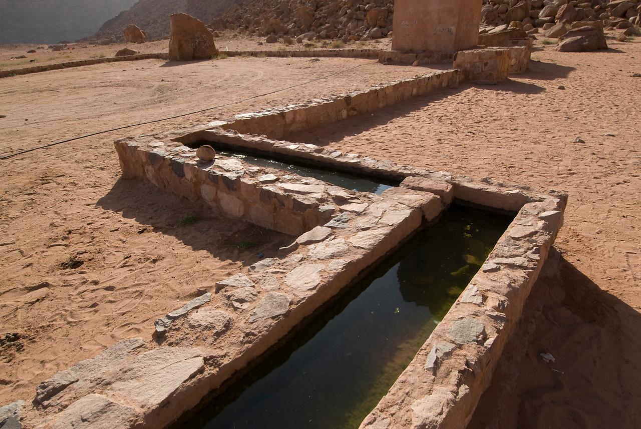 Camel Watering Hole - Wadi Rum, Jordan