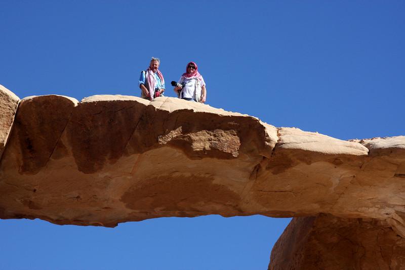 Wadak Rock bridge, Wadi Rum