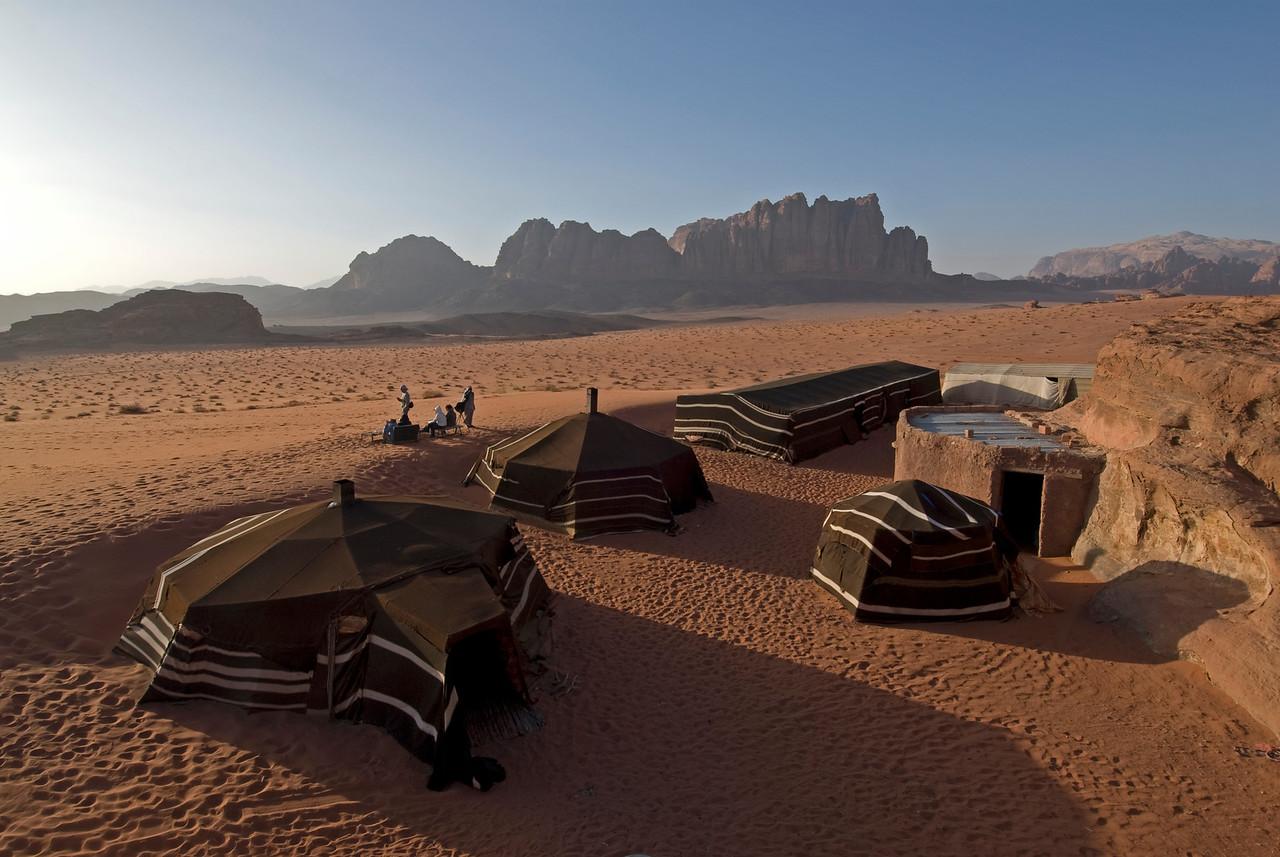 Bedouin Camp in Wadi Rum, Jordan