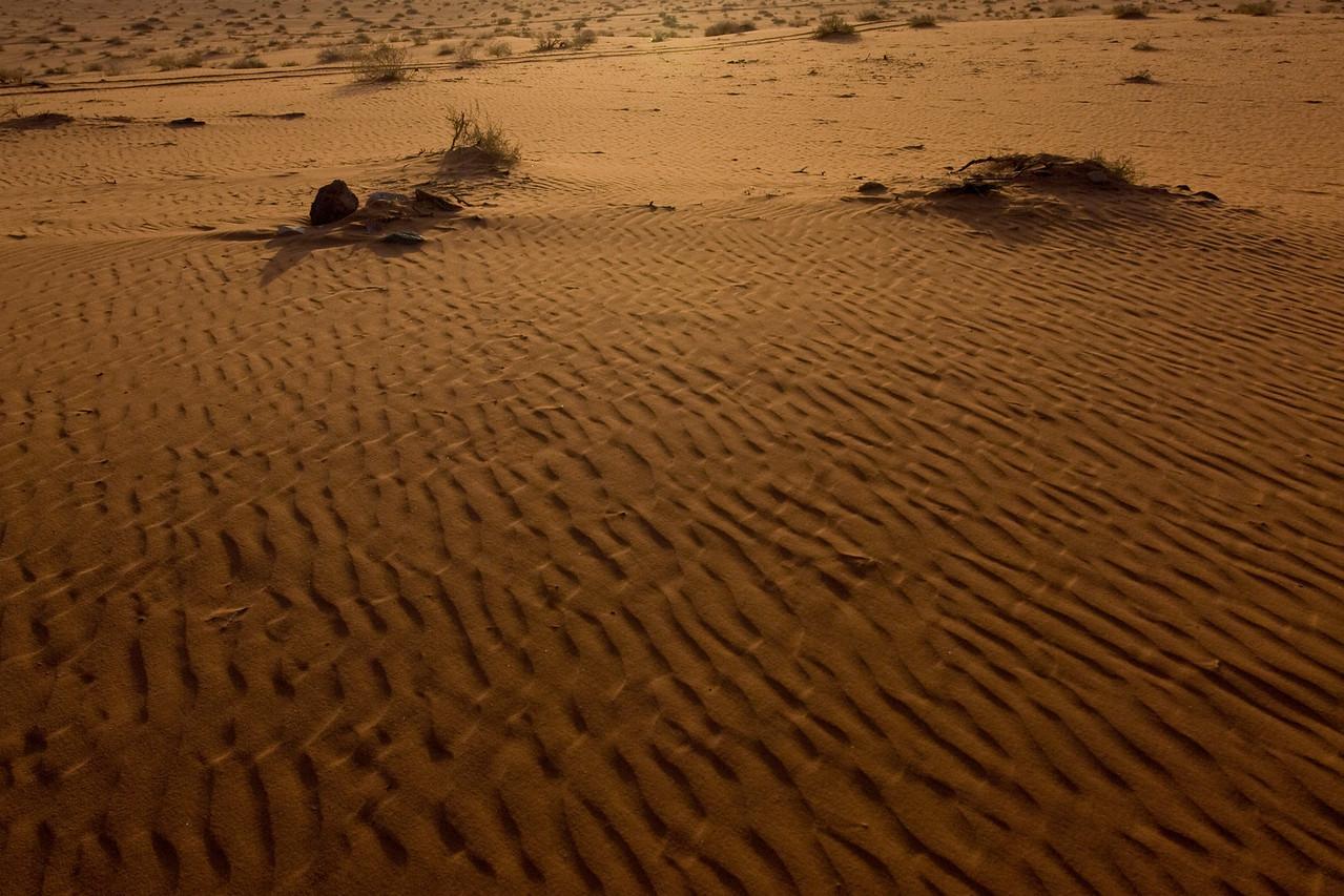 Sand Dunes - Wadi Rum, Jordan