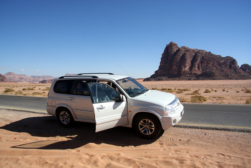 Our ride around Wadi Rum and to the camp site