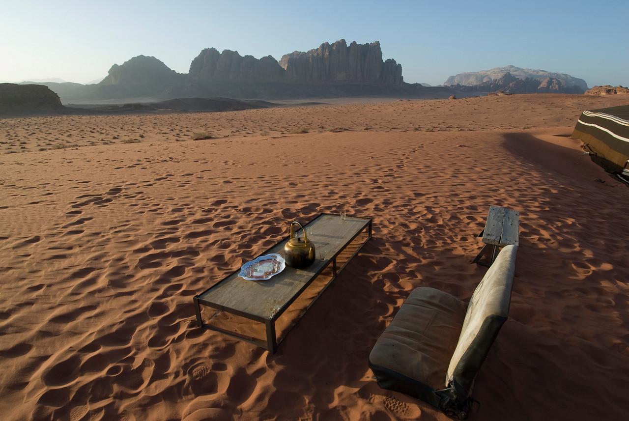Sunset Chairs - Wadi Rum, Jordan