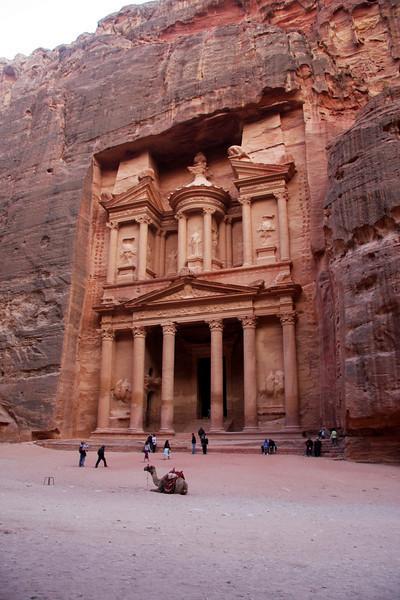 "Al Khazneh (""The Treasury""). Walking the SIQ at Petra (Wadi Mousa) Jordan"