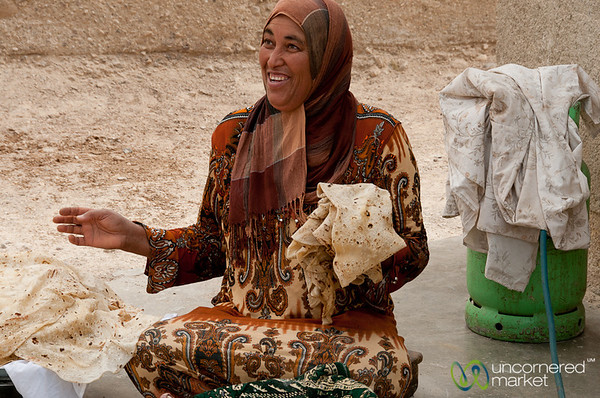 Bread Master of Ghor Al Mazra'a in Jordan