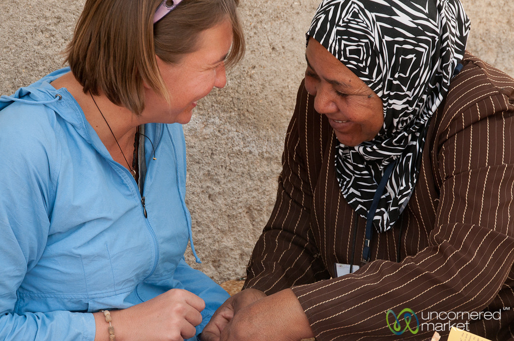 Audrey Confused Again on Tassels - Zikra Initiative, Jordan