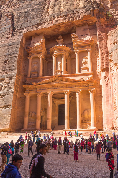 The Treasury at Petra Using the Jordan Pass to Enter the Site (©simon@myeclecticimages.com)