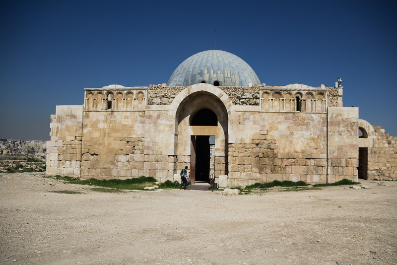 The Muslim Palace at the Amman Citadel (simon@myeclecticimages.com)