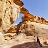 Wadi Rum Big Arch fr#16A2B3