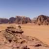 Wadi Rum-top of small arch
