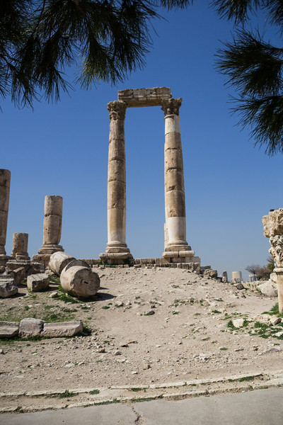 Using the Jordan Pass to See the Temple to Hercules at the Amman Citadel (©simon@myeclecticimages.com)