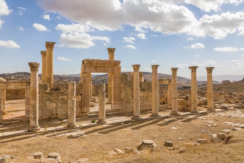 Jerash, Jordan, Ruins