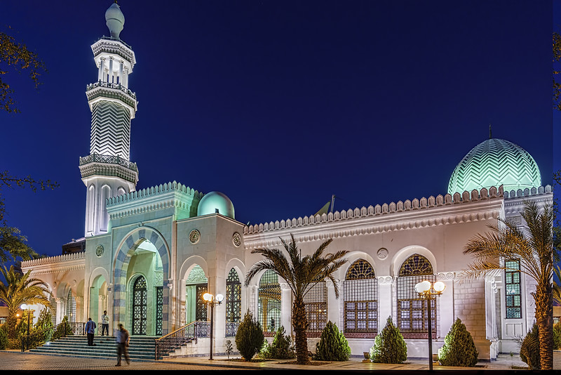 Aqaba Bin Ali Mosque