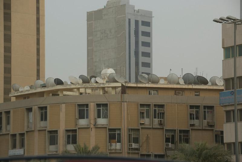 Satellite Dishes - Kuwait City, Kuwait
