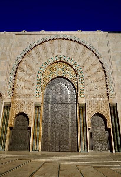 Sultan Hassan II moque exterior