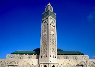 Sultan Hassan II mosque (exterior)