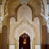 Sultan Hassan II mosque interior