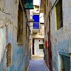 Street of the old Jewish Quarter of Fes