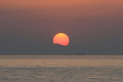 Sunset on Strait of Hormuz 2 - Musandam, Oman