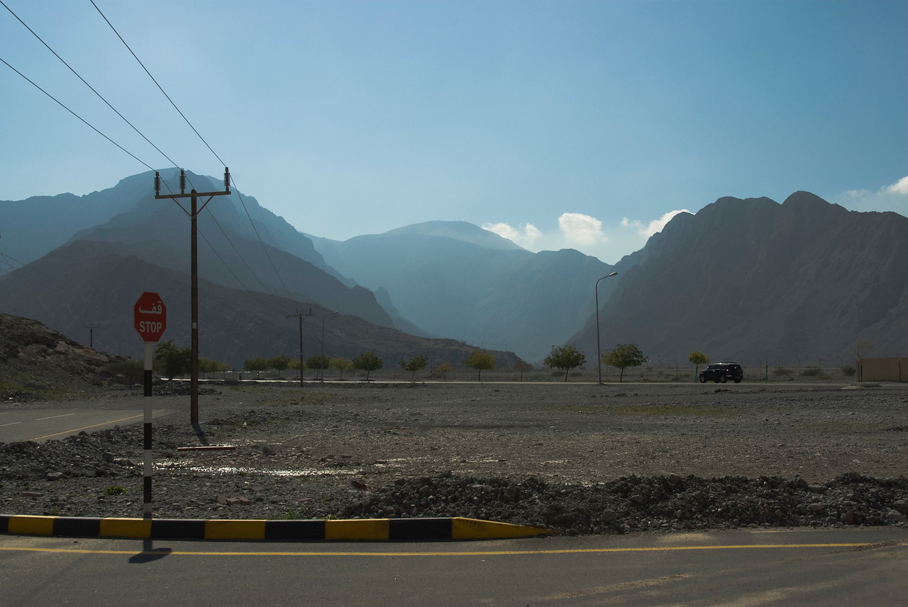 Mountains from Khasab - Musandam, Oman