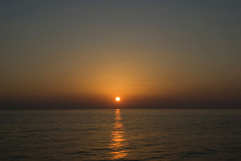 Sunset on Strait of Hormuz - Musandam, Oman