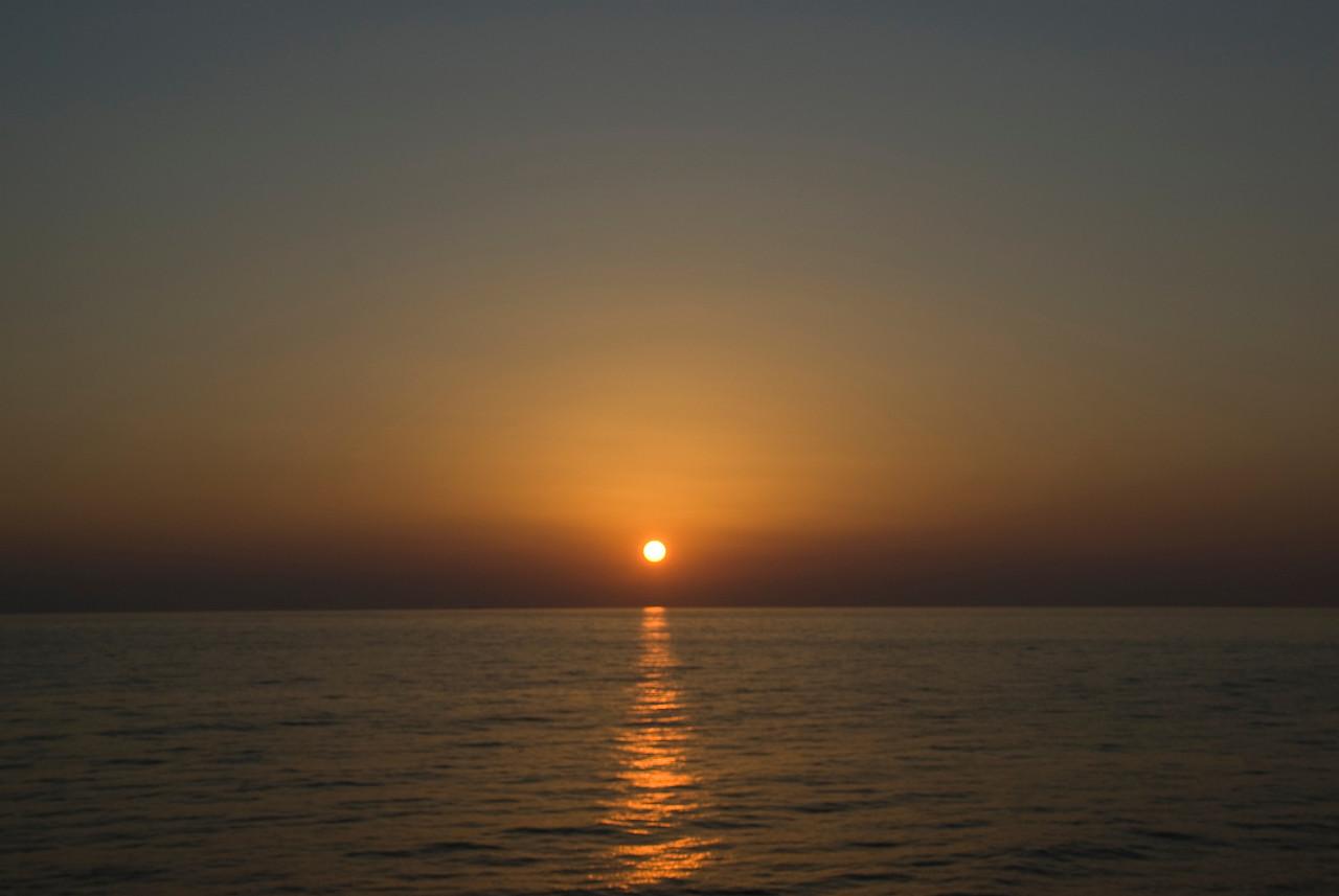 Sunset on Strait of Hormuz - Musandam, Oman