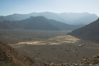 Valley Floor 2 - Musandam, Oman