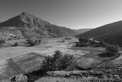 Green Valley B&W - Musandam, Oman