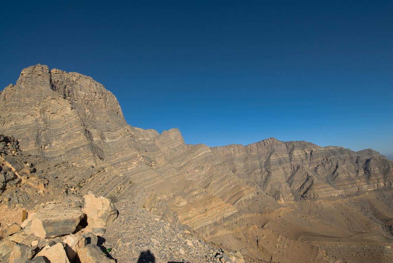 Sediment Layers - Musandam, Oman