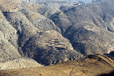 Mountain Terraces - Musandam, Oman