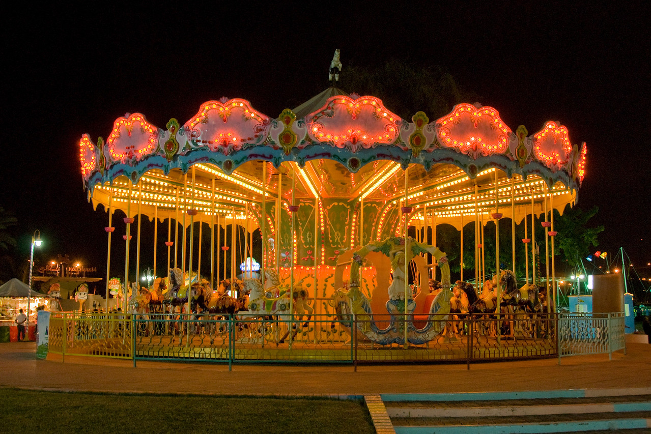 Carousel in Muscat, Oman