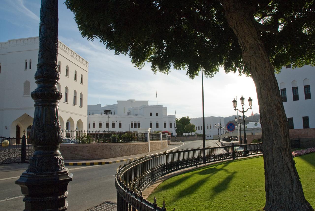 Street scene in Muscat, Oman