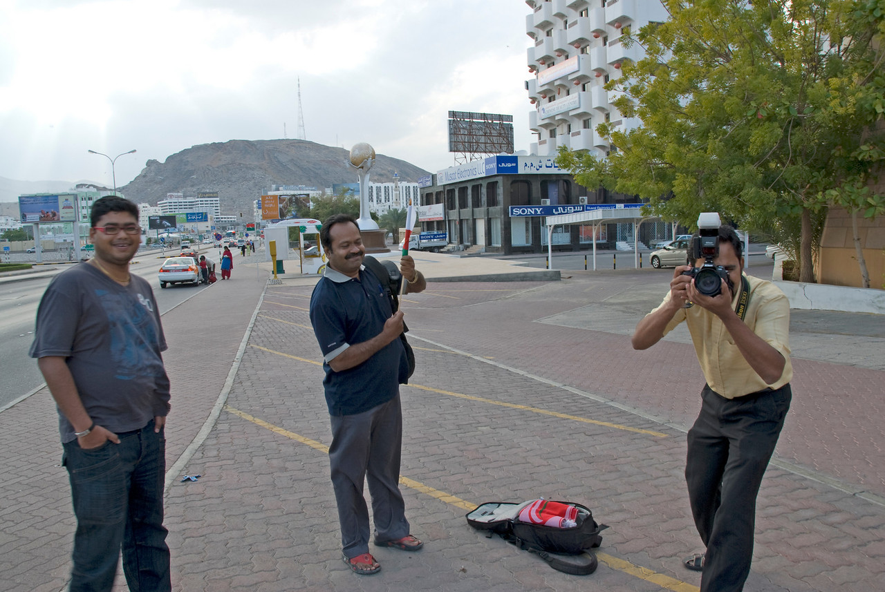 Interview with local crew in Muscat, Oman