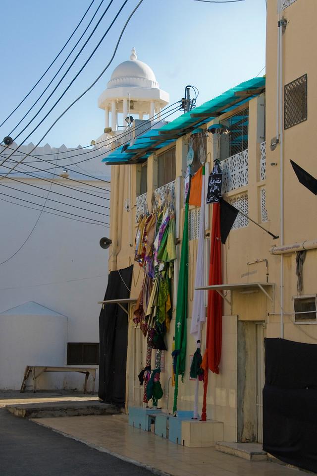 Cloth Outside Window - Muscat, Oman